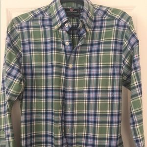 Vineyard Vines Flannel Shirt